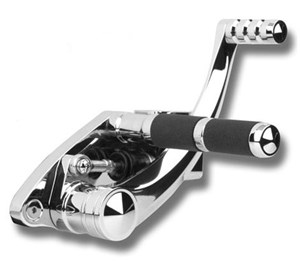 Accutronix Diamond Chrome Forward Controls - Honda Fury 1300 (2010)