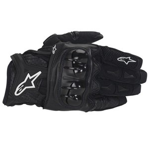 Alpinestars Atlas Textile Gloves - Black