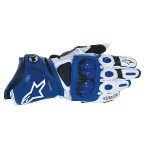 Alpinestars GP Pro Leather Gloves - Blue