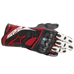 Alpinestars SP-2 Leather Gloves - Red