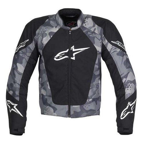 Alpinestars Motorcycle Jacket >> Alpinestars Sniper Air Flow Textile Jacket - Black