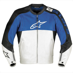 Alpinestar stunt leather jacket
