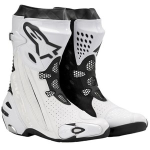 Alpinestars Supertech R Vented Boots - White / Black