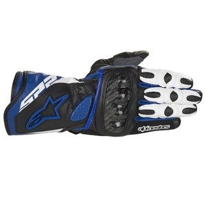 Alpinestars Women's Stella SP-2 Leather Gloves - Blue