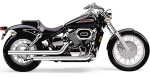 Cobra Dragsters Exhaust for Honda Shadow Spirit 750 C2 (07-09)