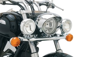 Cobra Steel Lightbar with Spotlights - Honda VTX 1300 R/S & 1800 C/R/S