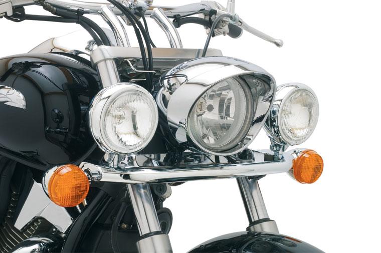 Cobra Steel Lightbar With Spotlights Honda Vtx 1800 N
