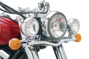 Cobra Steel Lightbar with Spotlights - Kawasaki Vulcan Classic VN900