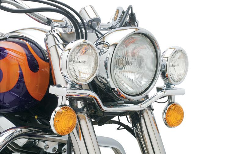 Cobra Steel Lightbar With Spotlights