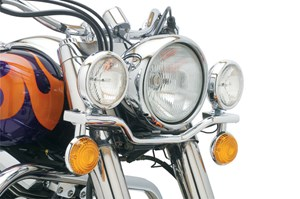 Cobra Steel Lightbar with Spotlights - Yamaha V-Star Classic 650