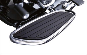 Cobra Swept Floorboard Kit - Honda Shadow Aero 750