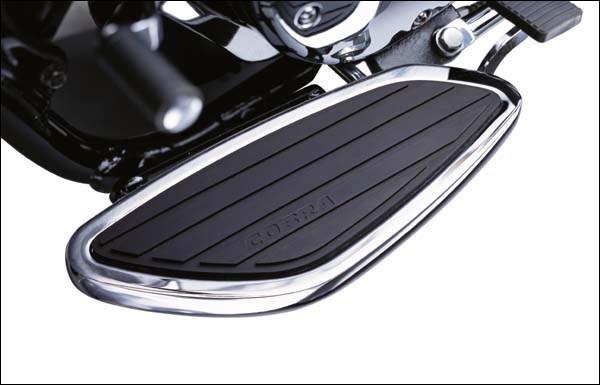 Honda Cruiser Models >> Cobra Swept Floorboard Kit - Honda Valkyrie 1500