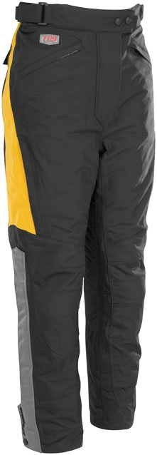 First Gear Women's Escape Pants - Black / Yellow
