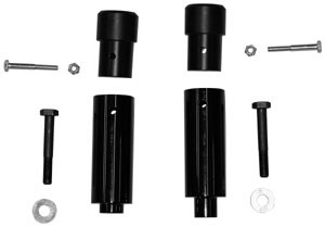 Freestyle Ingenuity Extended Frame Sliders - Kawasaki ZX10 (04-05)