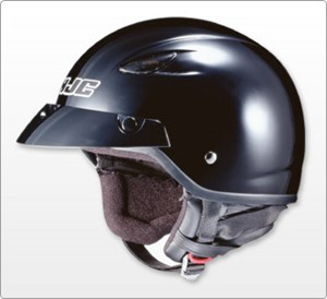 HJC CL-21M Open Face Helmet - Black