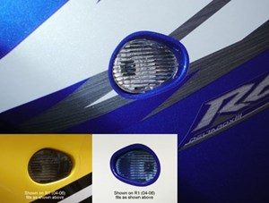 Hotbodies  Racing Flushmount Turn Signals for Yamaha YZF-R6 03-07