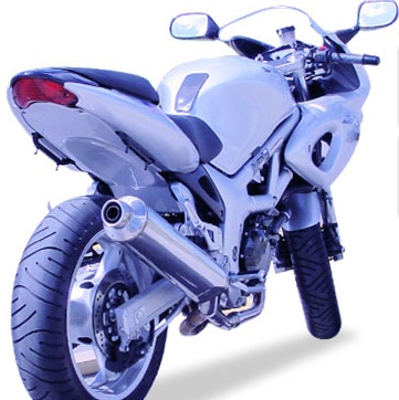 Hotbodies Racing Supersport Undertail For Suzuki Sv650 99 02