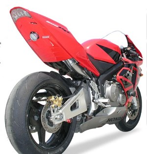 Hotbodies Racing Undertail Exhaust for Honda CBR600RR 03-04