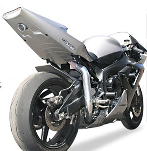 Hotbodies Racing Undertail Exhaust for Yamaha YZF-R1 04-06