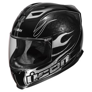 Icon Airframe Claymore Full Face Helmet - Black