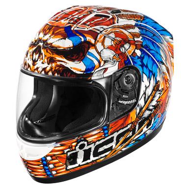 icon alliance ssr chieftain full face helmet white