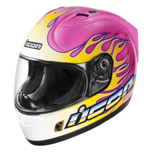 Icon Alliance SSR Igniter Full Face Helmet - Pink