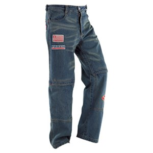 Icon Anthem Denim Pants - Blue