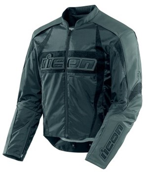Icon Arc Textile Jacket - Stealth