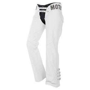 Icon Bombshell Leather Chaps - White
