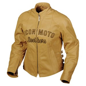 Icon Bombshell Leather Jacket - Tan
