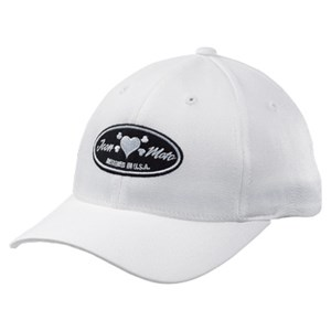 Icon Busted Baseball Cap - White