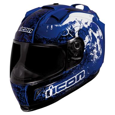 Icon Domain Helmet - Decay Blue