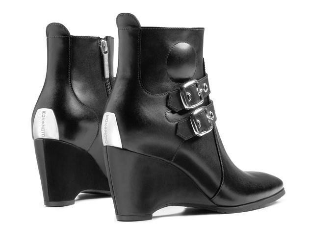 Icon Hella Women S Motorcycle Boots Black