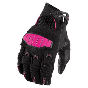Icon Hooligan 2 Womens Gloves - Pink
