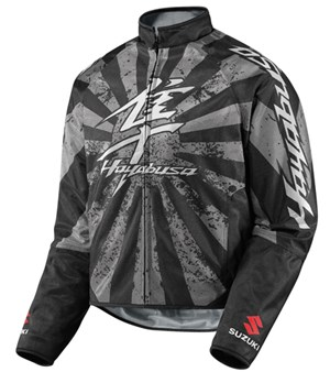 Icon Hooligan Hayabusa Textile Jacket - Black
