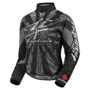 Icon Hooligan Hayabusa Woman's Textile Jacket - Black