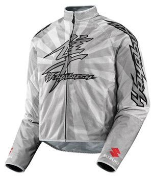Icon Hooligan Hayabusa Textile Jacket - Silver