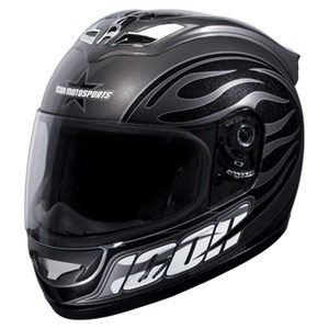 Icon Mainframe Helmet - Hooligan Black