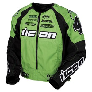 Icon Merc Team Stage 2 Textile Jacket - Green