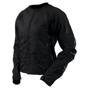 Icon Merc Textile Jacket - Black
