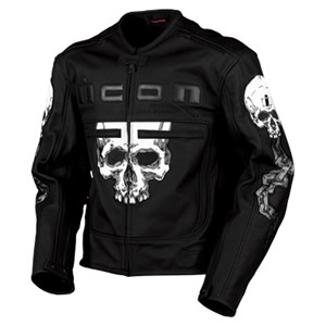 Icon Motorhead Skull Leather Jacket