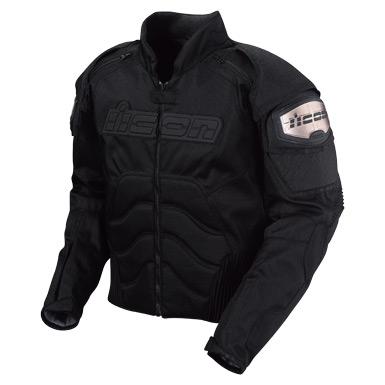 Best Motorcycle Jacket >> Icon TiMax2 Nylon Jacket - Black