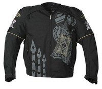 Joe Rocket Lucky Textile Jacket - Black
