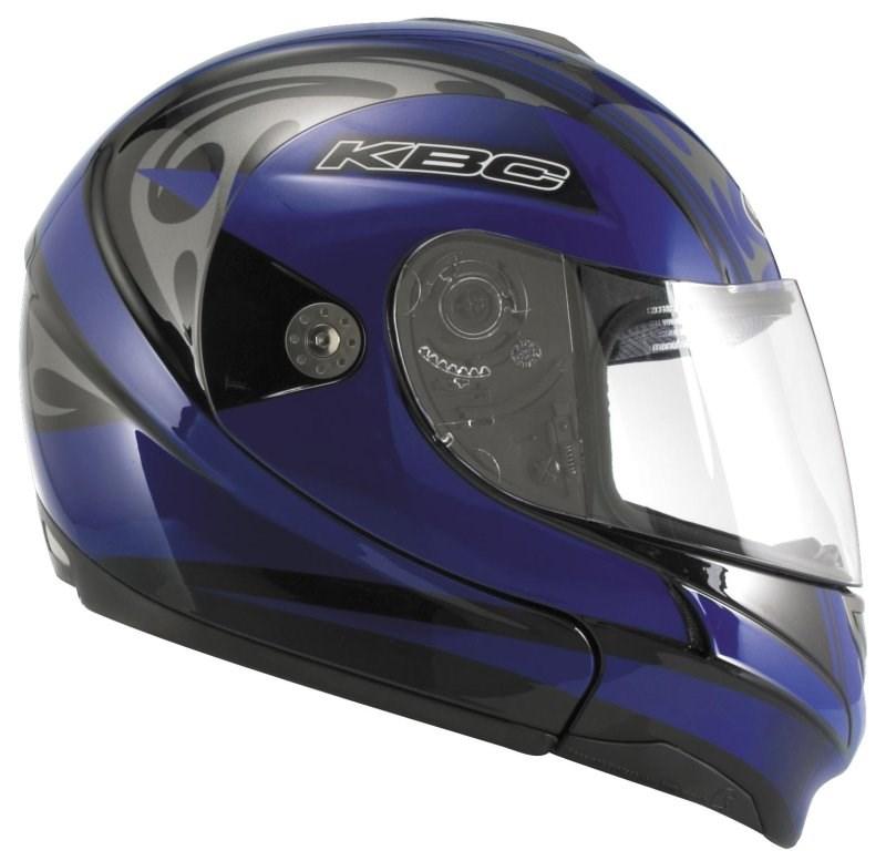 Kbc Ffr Modular Full Face Helmet Cruz Black Blue