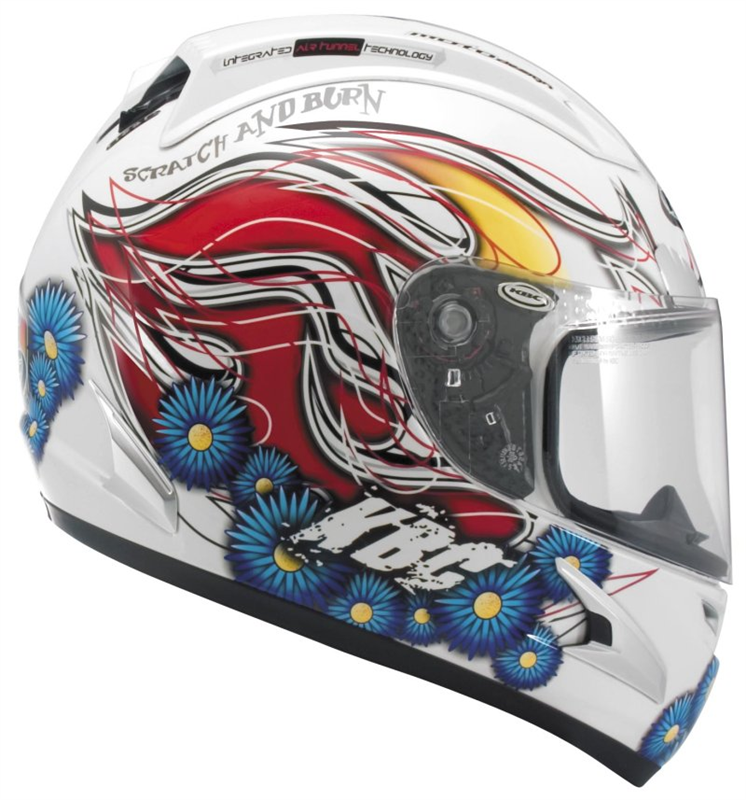 acb6ba5f KBC Force RR Full Face Helmet - Californian White