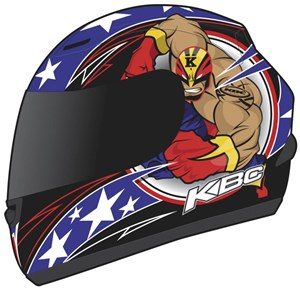 KBC VR-1X Full Face Helmet - Hero