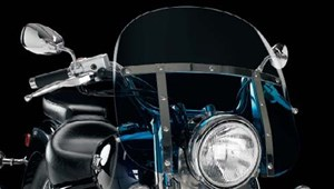 Memphis Shades Motorcycle Windshield - Memphis Fats 19""
