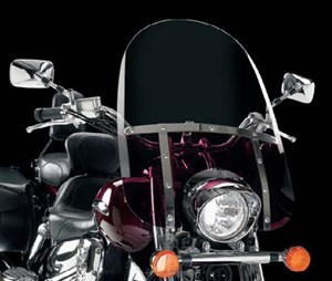 Memphis Shades Motorcycle Windshield - Memphis Slim 17""