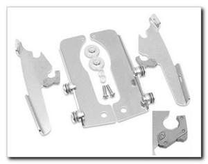 Memphis Shades No-Tool Trigger Lock Mount for Fats/Slim - Wide Forks