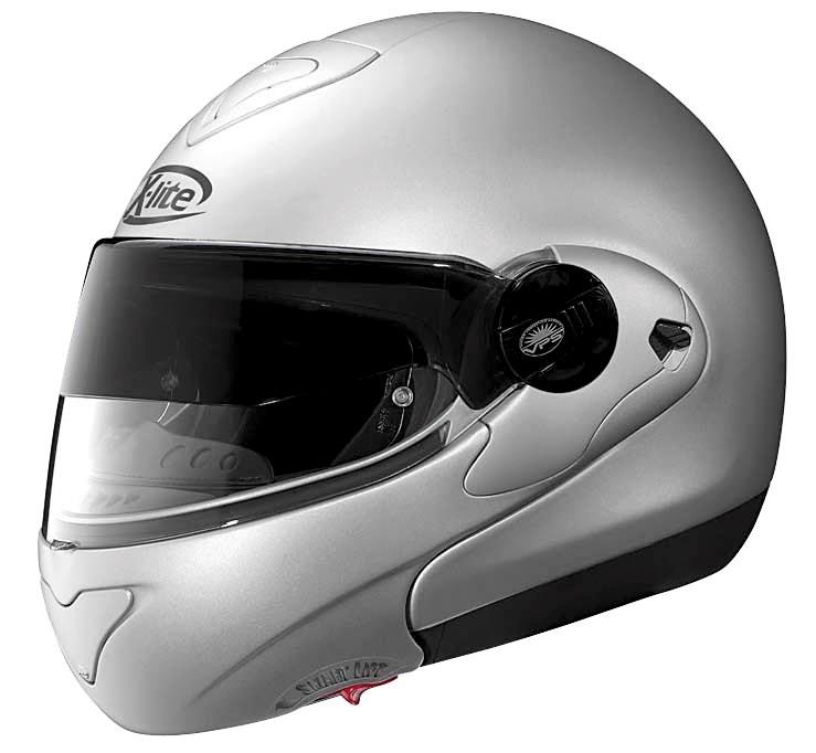 nolan x lite x 1002 full face helmet metallic silver. Black Bedroom Furniture Sets. Home Design Ideas